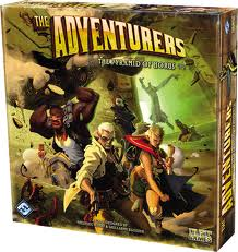 The Adventurers: The Pyramid of Horus by Fantasy Flight Games