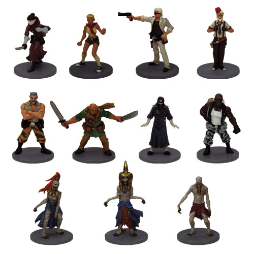 The Adventurers: The Pyramid Miniatures by Fantasy Flight Games