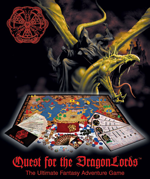 Quest for the DragonLords (1st Edition) by Dragonlords Inc.
