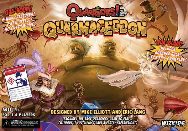 Quarriors! Quarmageddon Expansion by WizKids/NECA