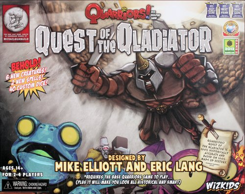Quarriors! Quest of the Qladiator Expansion by WizKids/NECA