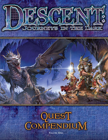 Descent: Quest Compendium by Fantasy Flight Games