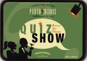 Quiz Show Tin Party Mixer by Front Porch Classics