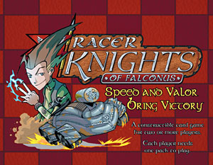 Racer Knights Of Falconus Csg Pack by White Wolf Publishing