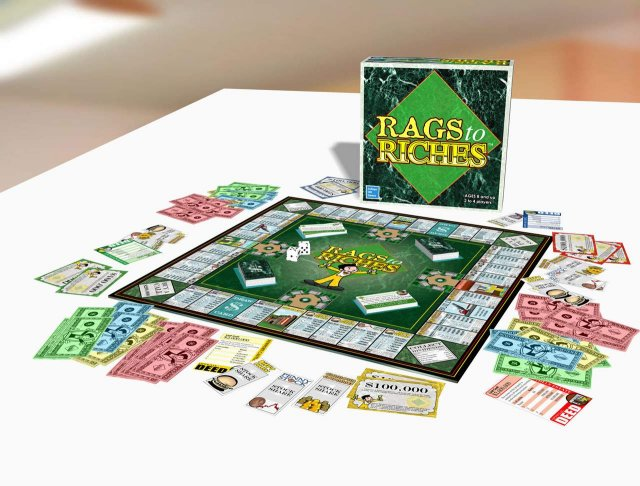 Rags to Riches by College Hill  Games