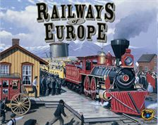 Railways of Europe by Fred Distribution / Eagle Games