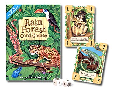 Rain Forest Card Game by US Games Systems, Inc