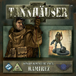 Tannhauser: Ramirez Sergio Delastillas Figure Expansion by Fantasy Flight Games