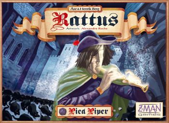 Rattus: Pied Piper Expansion by Z-Man Games, Inc.