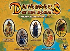 Defenders Of The Realm: Hero Expansion #1 by Eagle Games