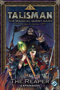 Talisman Revised 4th Edition: The Reaper Expansion by Fantasy Flight Games