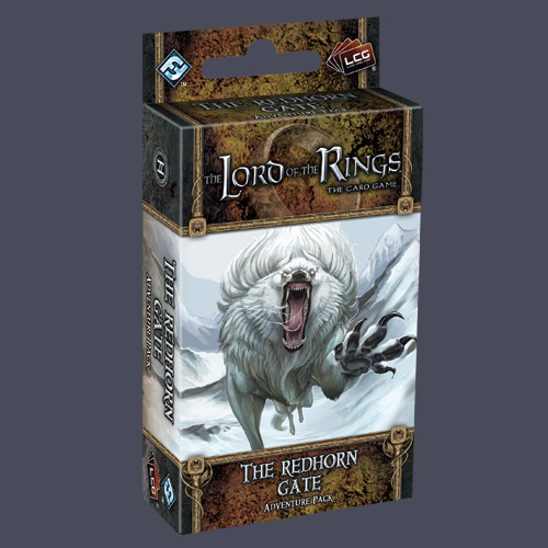 Lord of the Rings LCG: The Redhorn Gate Adventure Pack by Fantasy Flight Games