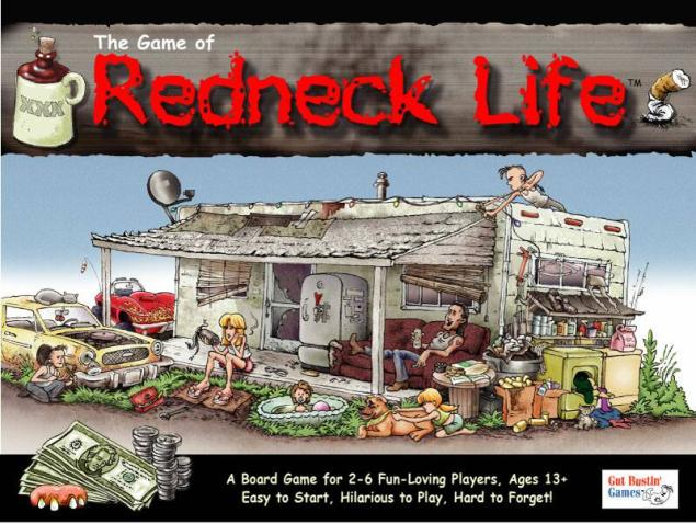 Redneck Life Board Game by Gut Bustin Games