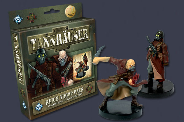Tannhauser: Reich Troop Pack by Fantasy Flight Games