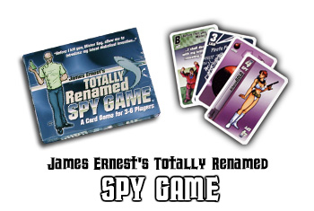 Totally Renamed Spy Game by Cheapass Games