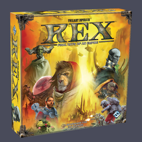Rex: Final Days of an Empire by Fantasy Flight Games