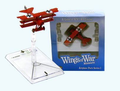 Wings of War miniatures : Fokker DR I Manfred von Richthofen (Germany) by Fantasy Flight Games