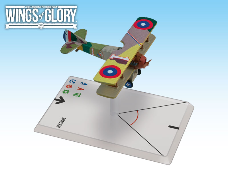 Wings of Glory: WWI: SPAD XIII (RickenBaker) by Ares Games