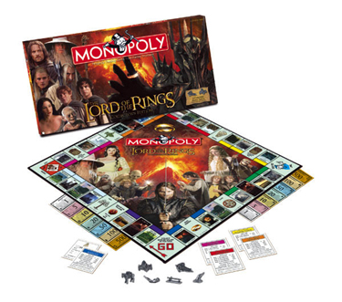 Lord of the Rings Monopoly by USAOpoly