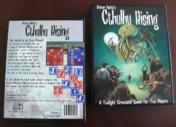 Reiner Knizia's Cthulhu Rising by Twilight Creations, Inc.