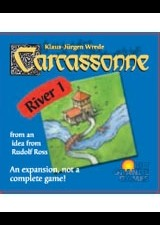 Carcassonne River 1 Expansion by Rio Grande Games