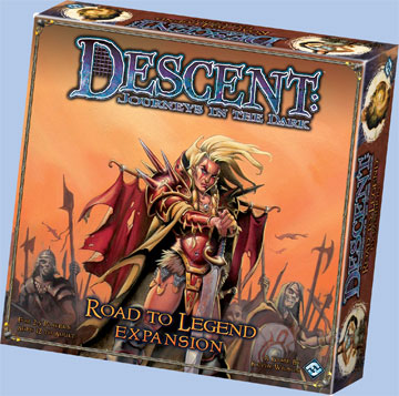 Descent: Road To Legend Expansion by Fantasy Flight Games