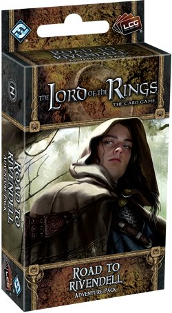 Lord of the Rings LCG: Road To Rivendell Adventure Pack by Fantasy Flight Games