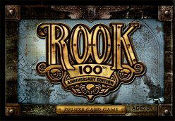 Rook Deluxe Card Game 100th Anniversary Edition by Hasbro