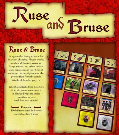 Ruse & Bruise (Ruse and Bruise) by Rio Grande Games