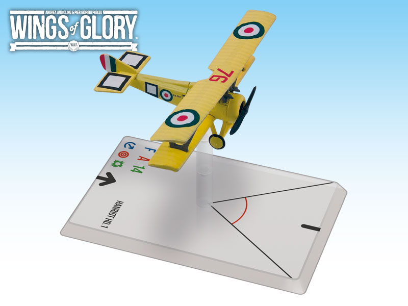 Wings of Glory WWI : Hanriot HD.1 (Scaroni) by Ares Games Srl