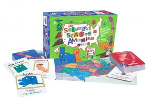The Scrambled States of America by Gamewright