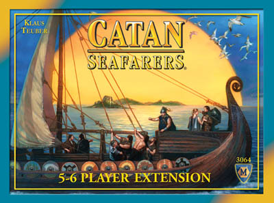 Settlers of Catan Board Game : Seafarers of Catan 5-6 Player Extension by Mayfair Games