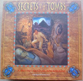 Secret of the Tombs by Rio Grande Games