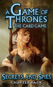 A Game Of Thrones Lcg: Secrets & Spies Chapter Pack by Fantasy Flight Games