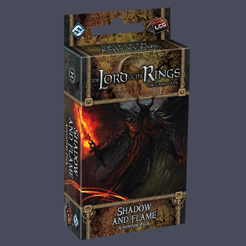 Lord of the Rings LCG: Shadow and Flame Adventure Pack by Fantasy Flight Games