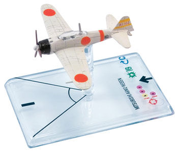 Wings Of War II: Mitsubishi A6M2 Reisen (Shindo) by Fantasy Flight Games