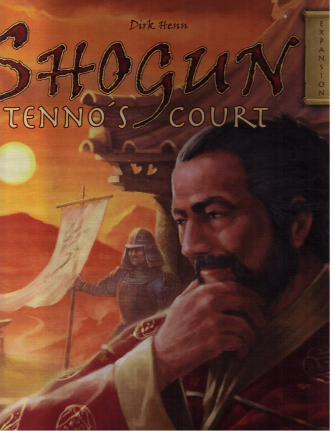 Shogun: Tenno's Court Expansion by Queen Games