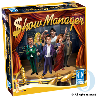 Show Manager by Queen Games GmbH
