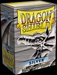 Card Sleeves - Clear front and silver back 100 count by Arcane Tinmen / Dragon Shield