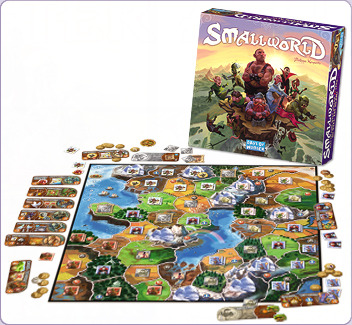 Small World Board Game by Days of Wonder, Inc.