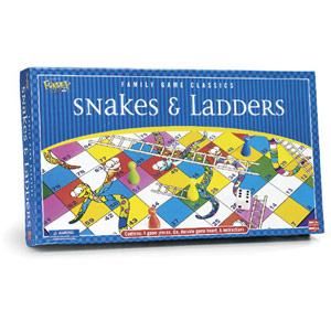 Snakes & Ladders by Fundex Games