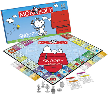 Snoopy Monopoly by USAOpoly
