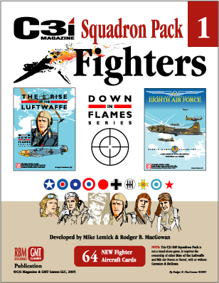 Down in Flames: Squadron Fighter Pack 1 by GMT Games