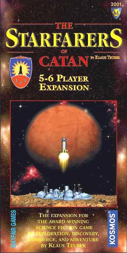 Starfarers of Catan 5 and 6 player expansion by Mayfair Games