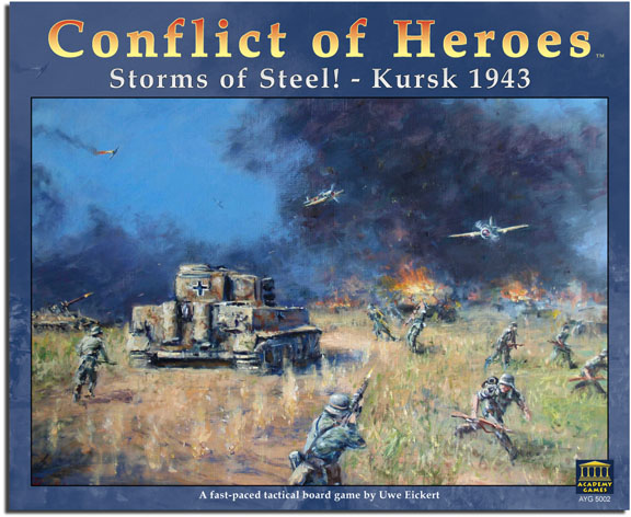 Conflict Of Heroes: Storms Of Steel by Academy Games