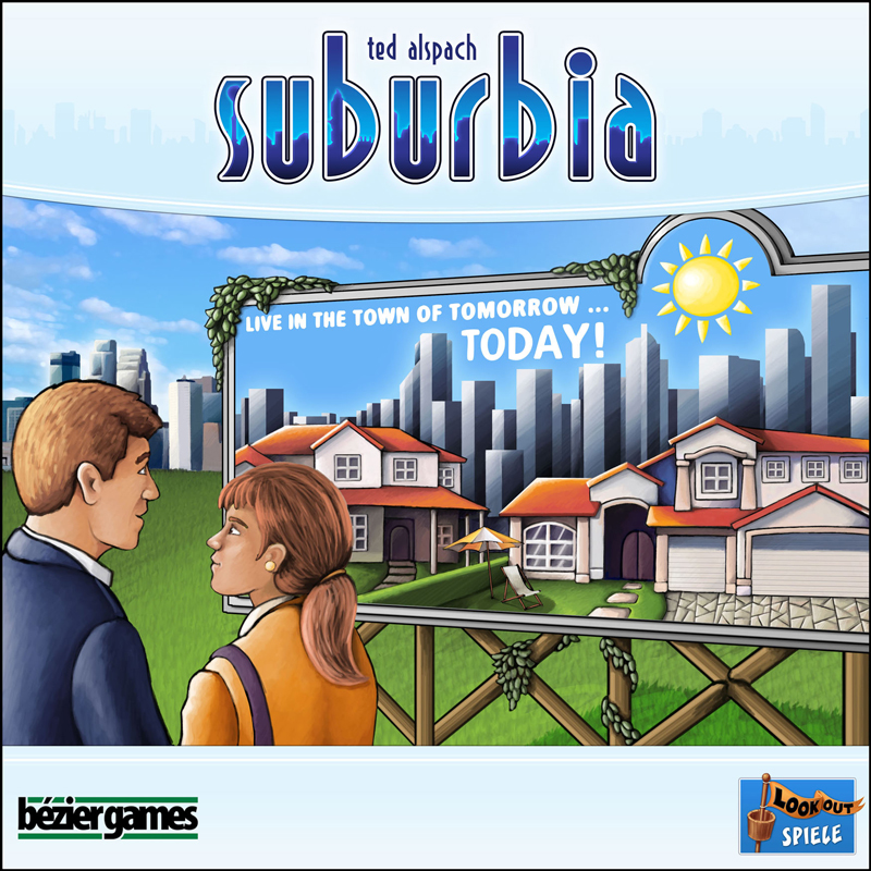 Suburbia by Bezier Games