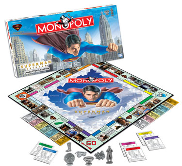 Superman Returns Collector's Edition Monopoly by USAOpoly