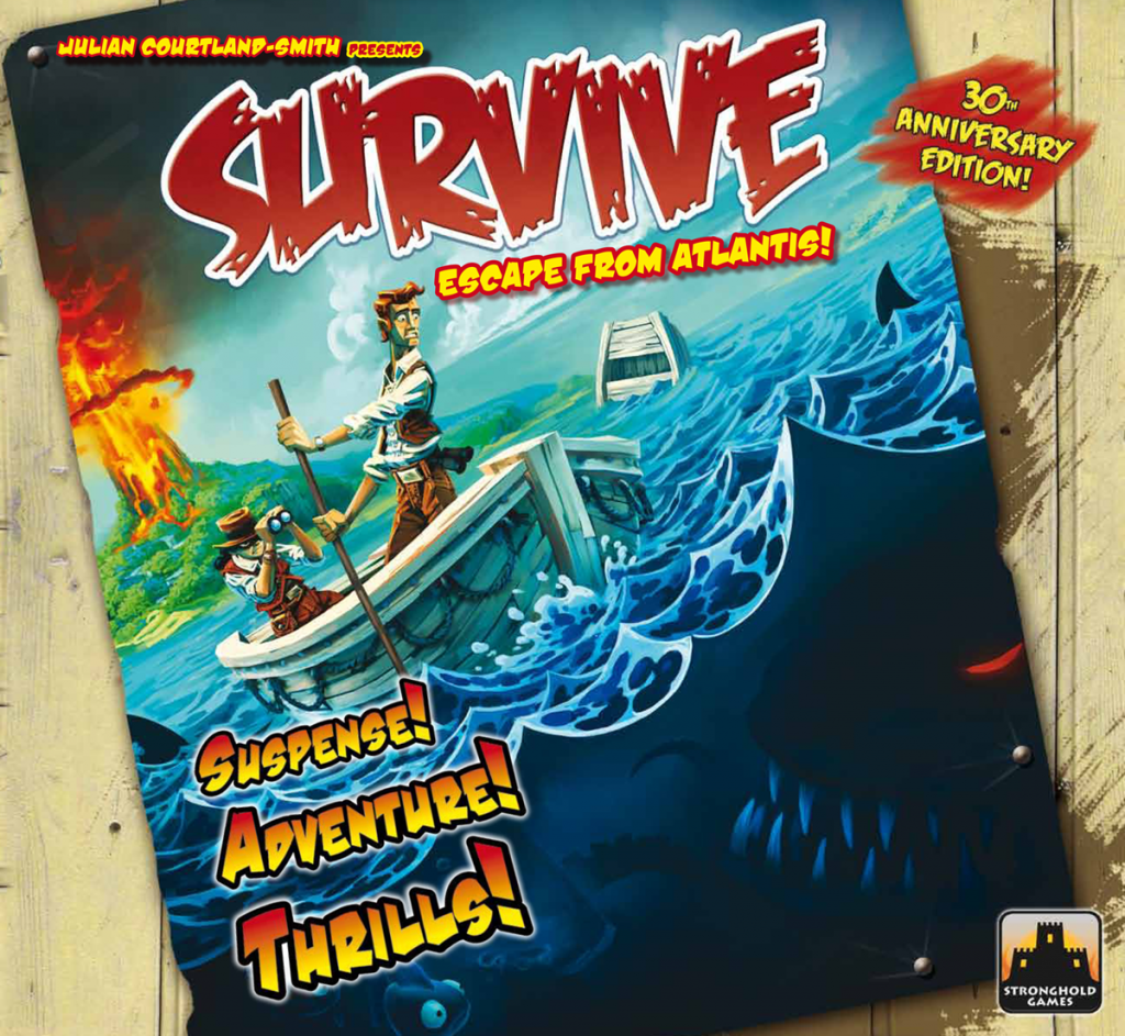 Survive: Escape From Atlantis 30th Anniversary Edition by Stronghold Games