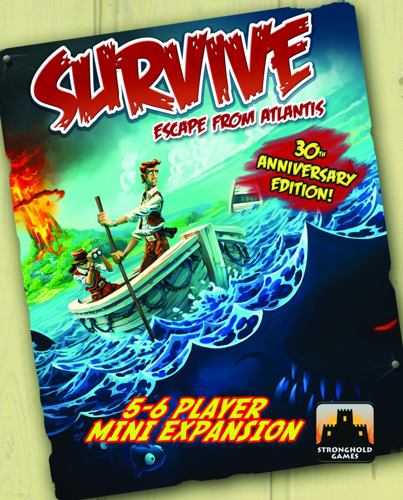 Survive: The 5-6 Player Mini-Expansion (30th Anniversary Edition) by Stronghold Games