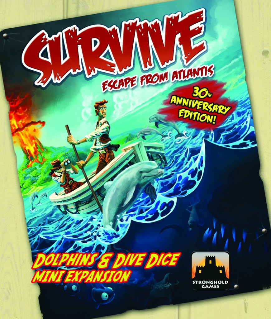 Survive: The Dolphins and Dive Dice Mini-Expansion (30th Anniversary Edition) by Stronghold Games